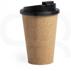 Cork travel mug 350 ml with lid
